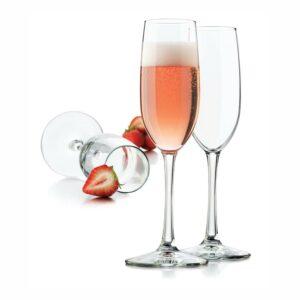 """12 כוסות שמפניה 240 מ""""ל Libbey"""