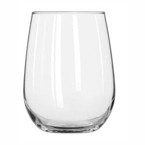 """12 כוסות יין ללא רגל 500 מ""""ל"""